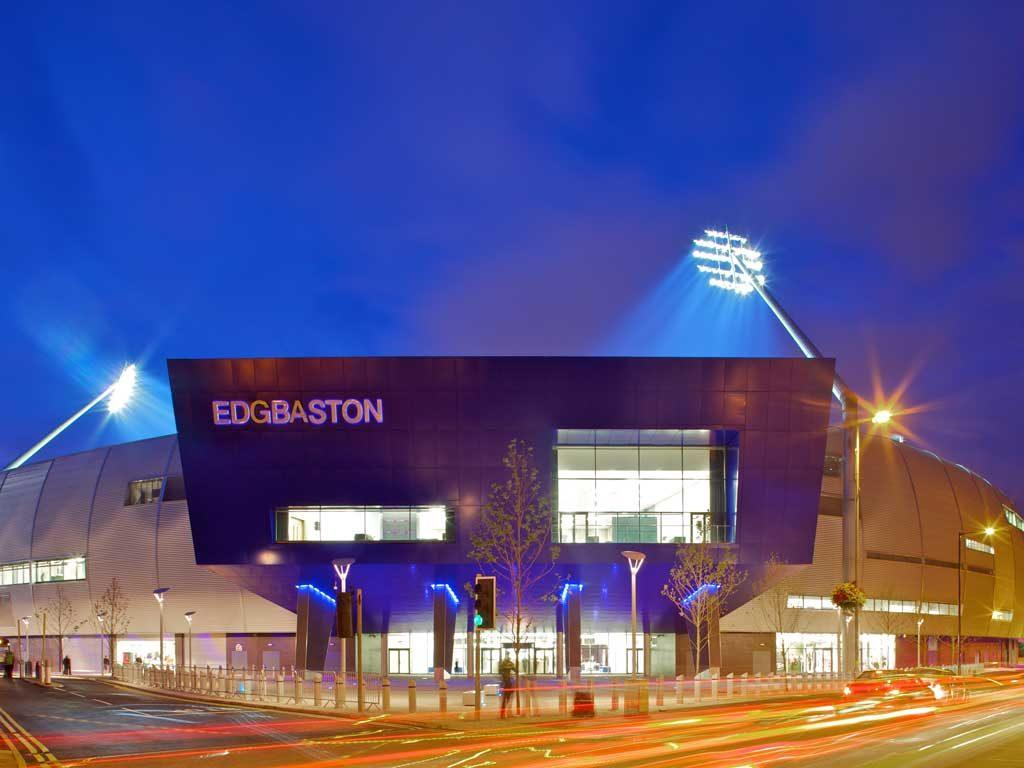 Front view of Edgbason Stadium