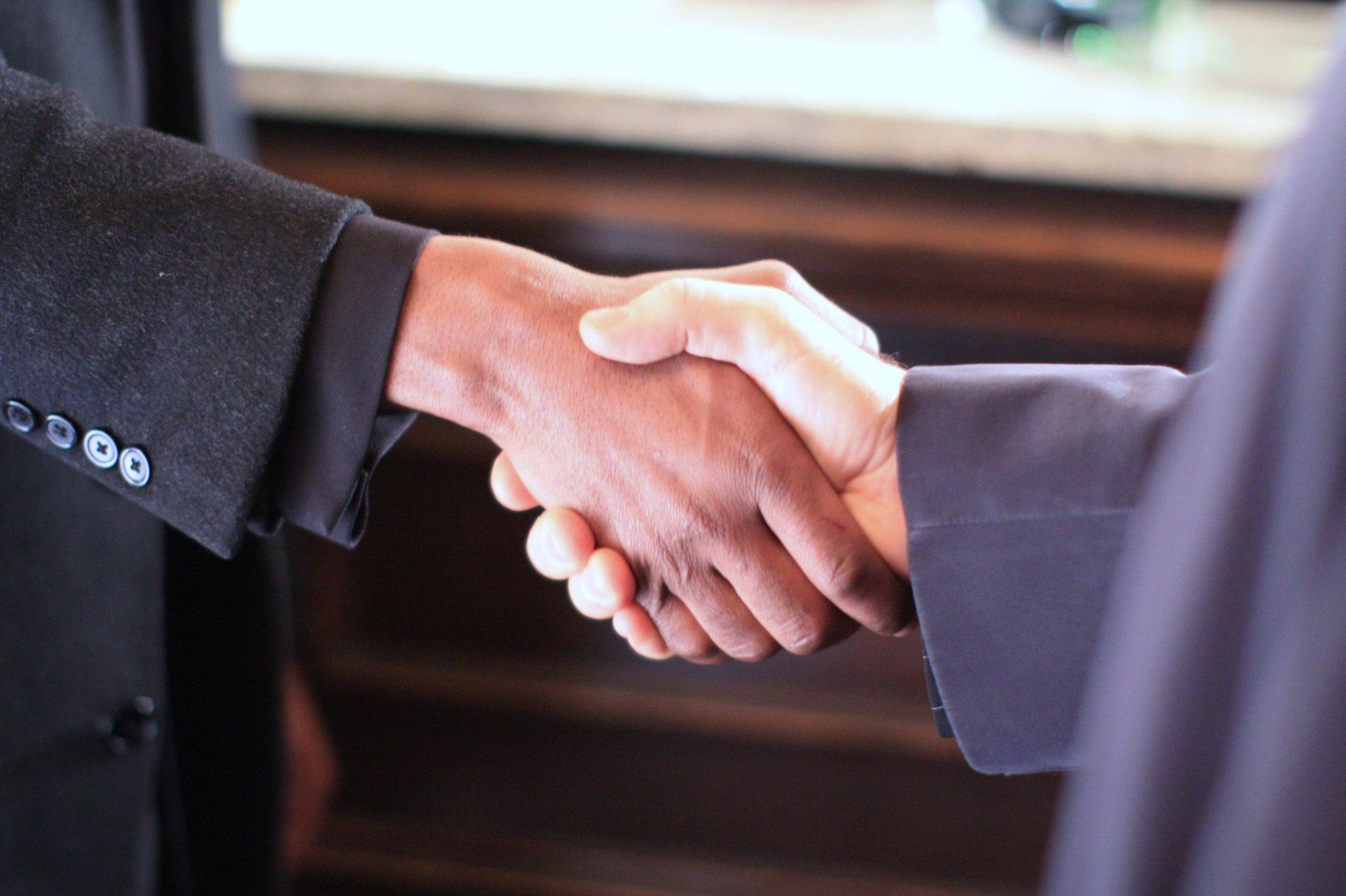 Partners - handshake